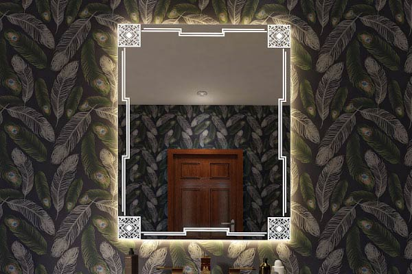 Give the room a wow factor with mirror